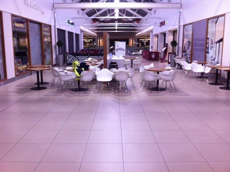 Slippery Shopping Centre Floor Porcelain Tiles