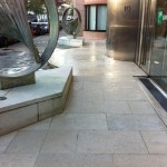 External Limestone Anti Slip Treatment