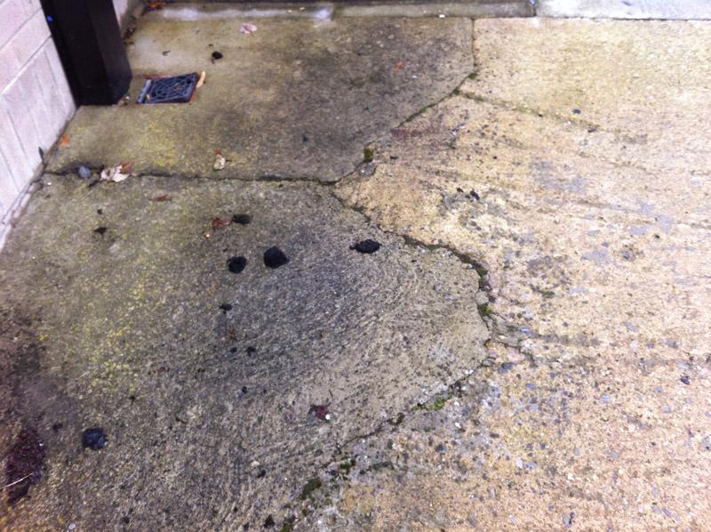 Concrete Floor Anti Slip Treatment School Access Ramp