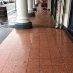 Slippery Terrazzo Tile