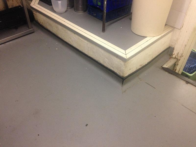 restaurant kitchen flooring. slippery vinyl flooring restaurant kitchen