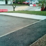 Nonslip Treatment for Tarmac