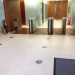 Wet Slippery Porcelain Tiles
