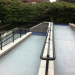 Access Ramp Anti-Slip Treatment