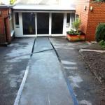 Slippery asphalt solution