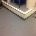 Slippery Vinyl flooring